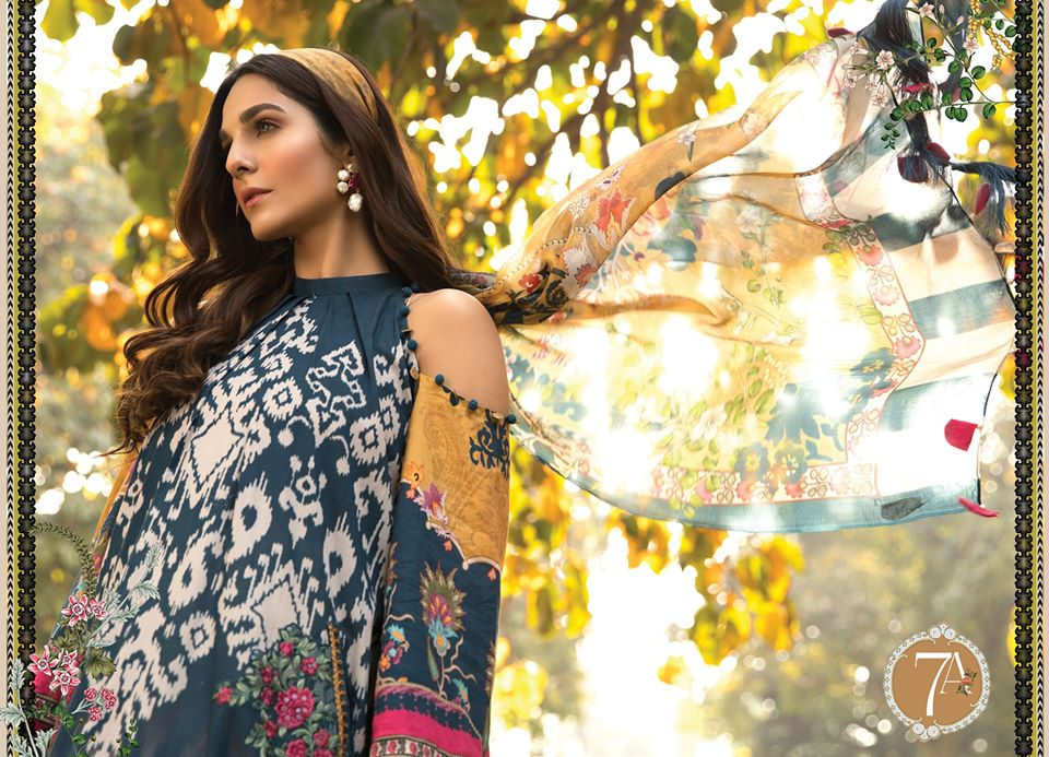 Most Awaited Maria B Lawn Collection 2020 is here 24 7a 1