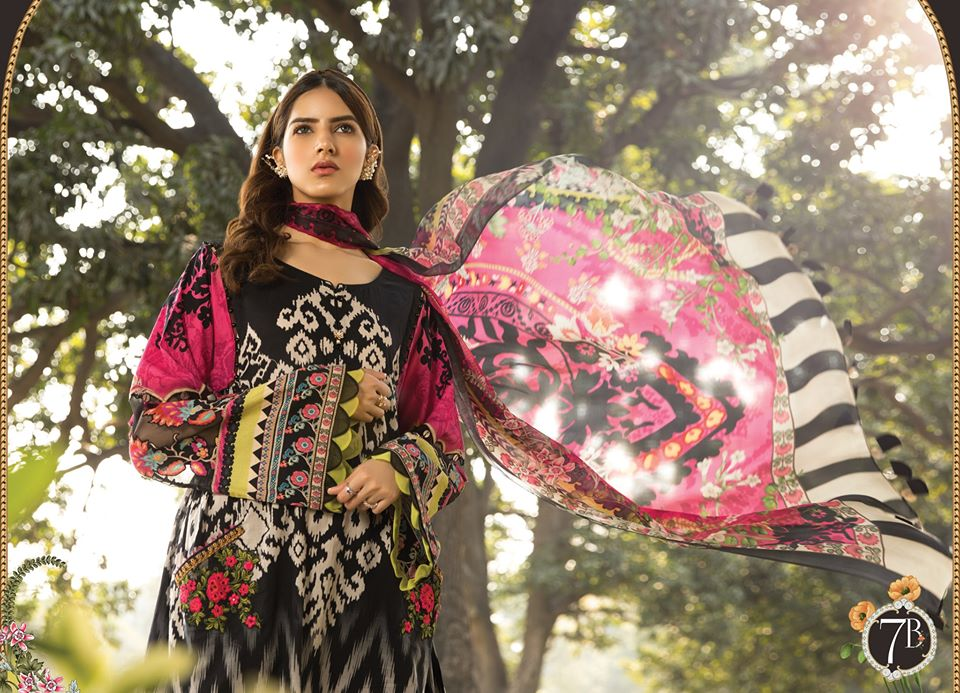 Most Awaited Maria B Lawn Collection 2020 is here 26 7b 1