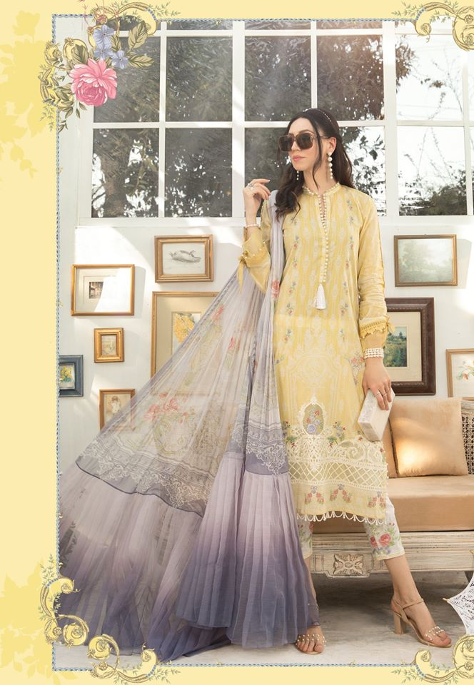 Most Awaited Maria B Lawn Collection 2020 is here 33 9b..