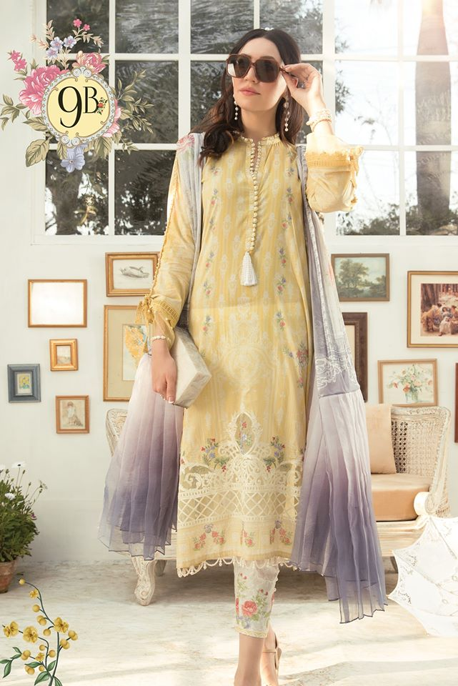 Most Awaited Maria B Lawn Collection 2020 is here 34 9b