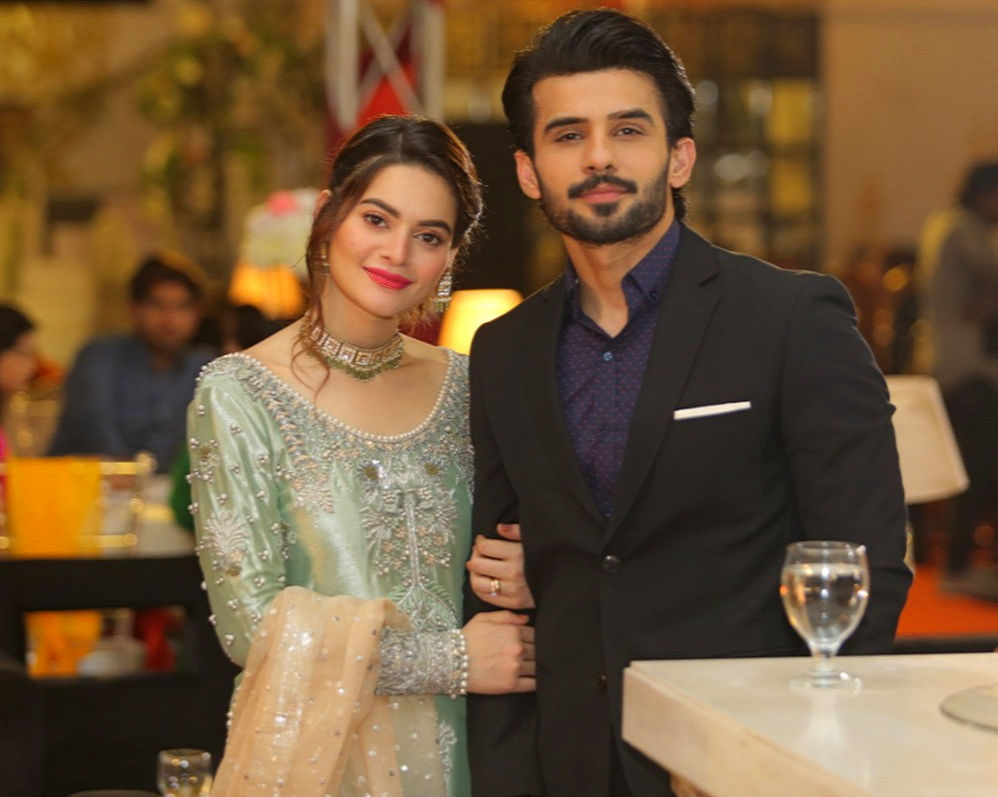 Fahad Sheikh and Minal Khan