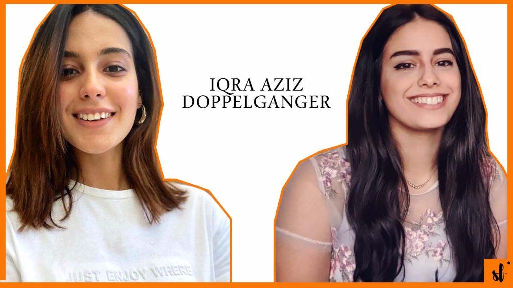 Iqra Aziz Doppelganger