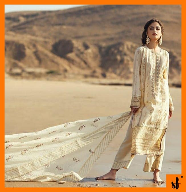 Sajal Aly slaying in her latest photoshoot for Qalamkar
