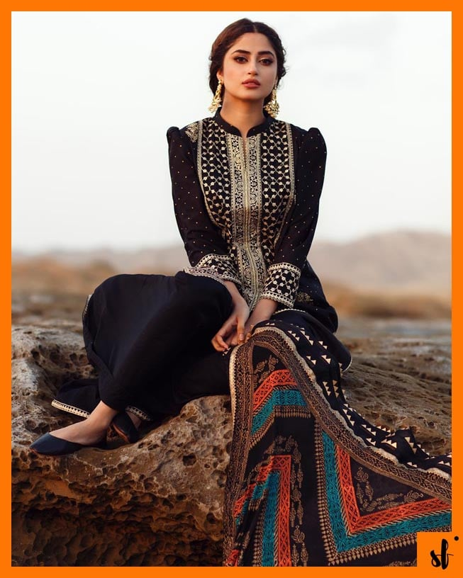 Sajal Aly slaying in her latest photoshoot for Qalamkar 1 SAJAL ALI NEW SHOOT 7