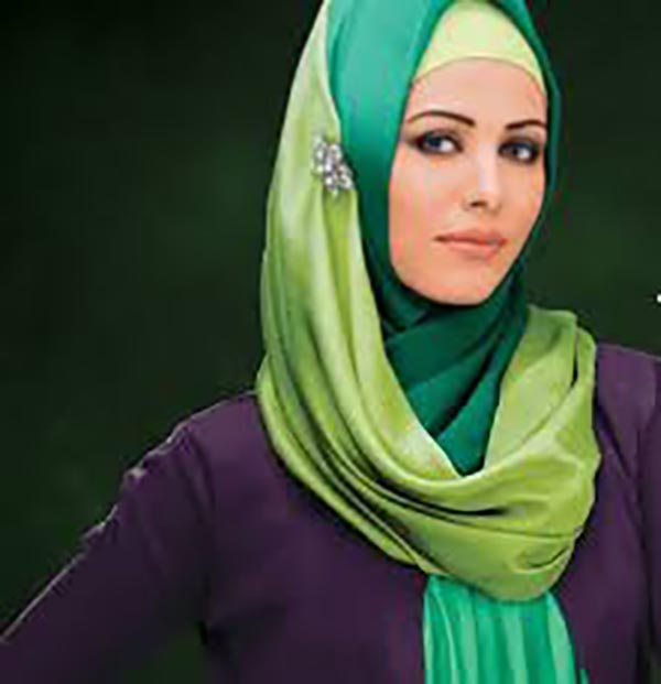 Model Ayyan Ali in Hijab