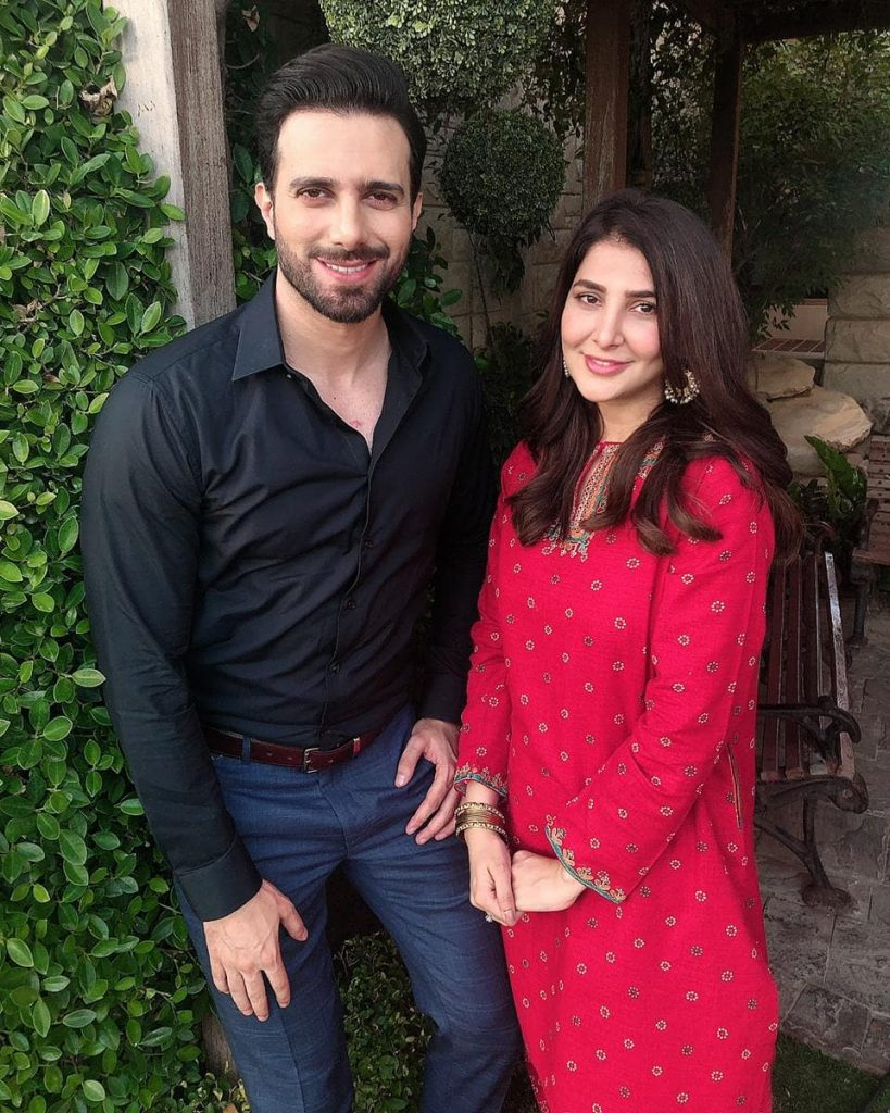 Emmad Irfani and Areeba