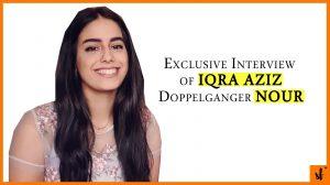 Exclusive Interview with Iqra Aziz Look alike the Beautiful Nour 1 iqra aziz look alike nour from lebanon exclusive interview