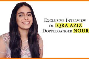 Exclusive Interview with Iqra Aziz Look alike the Beautiful Nour 5 iqra aziz look alike nour from lebanon exclusive interview