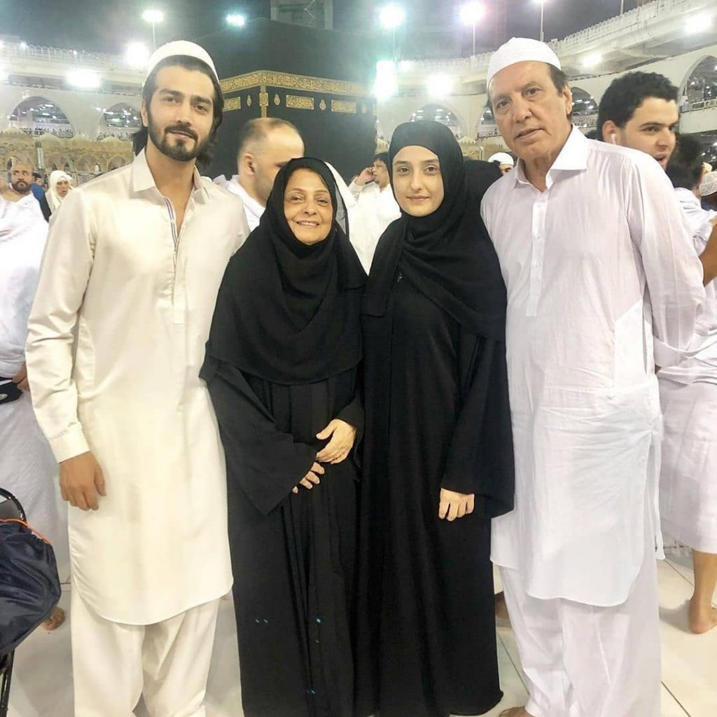Actress Momal Sheikh in Hijab