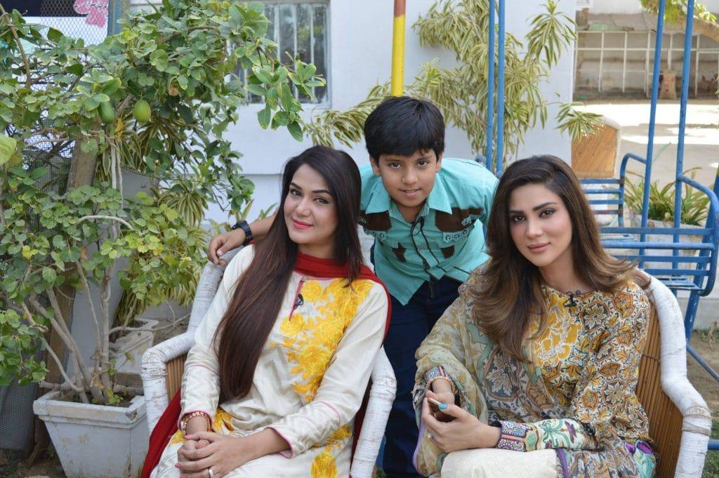Hanzala Shahid child star
