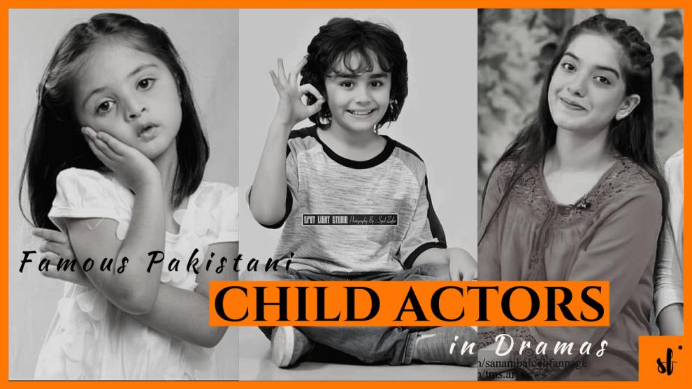 Famous Pakistani Child Actors in Dramas