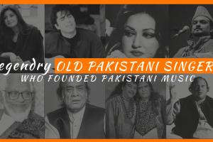 Legendry Old Pakistani Singers who founded Pakistani Music (1)