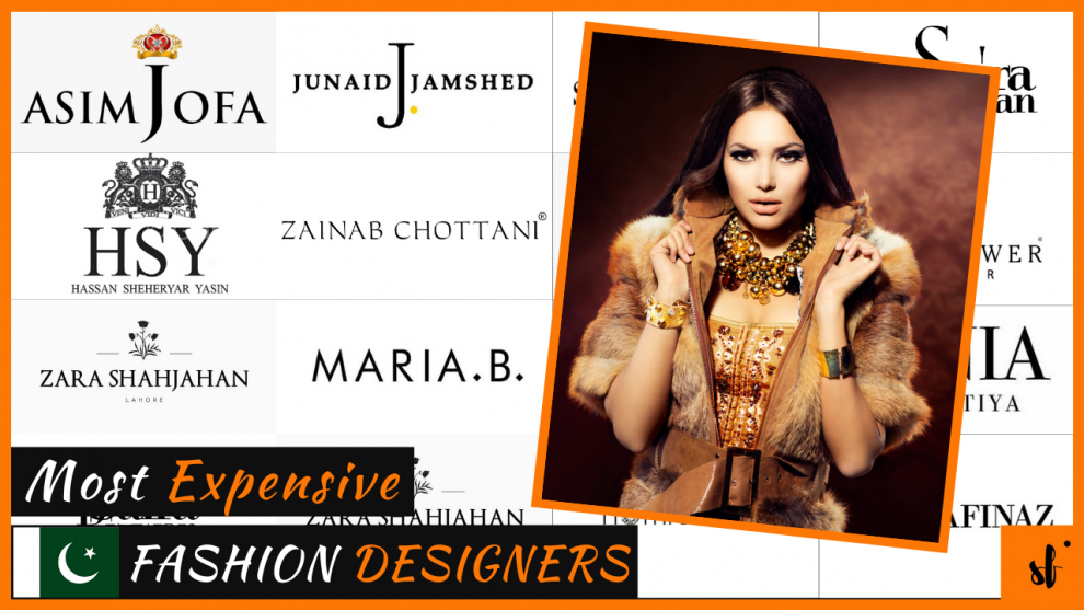 Most Expensive Fashion Designers in Pakistan