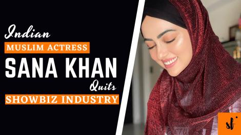 Muslim Indian Actress Sana