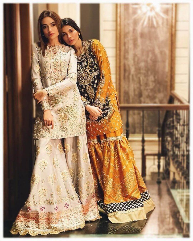Amna Babar dresses