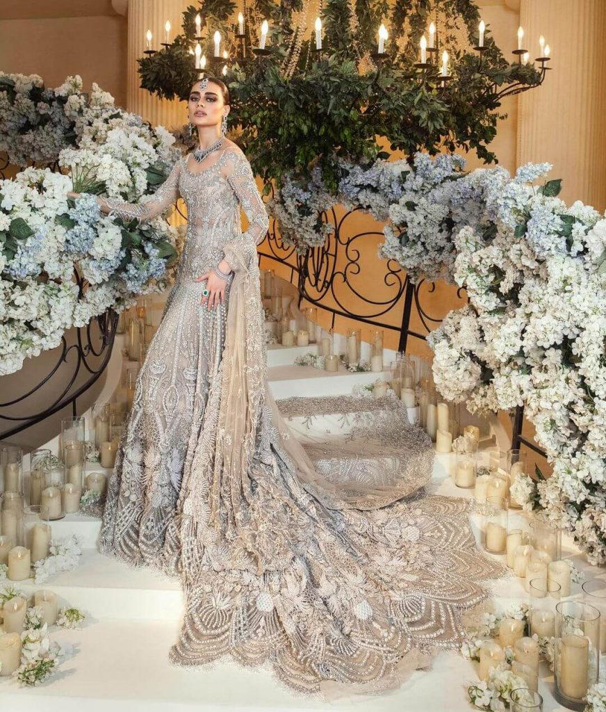 sadaf kanwal wedding dress