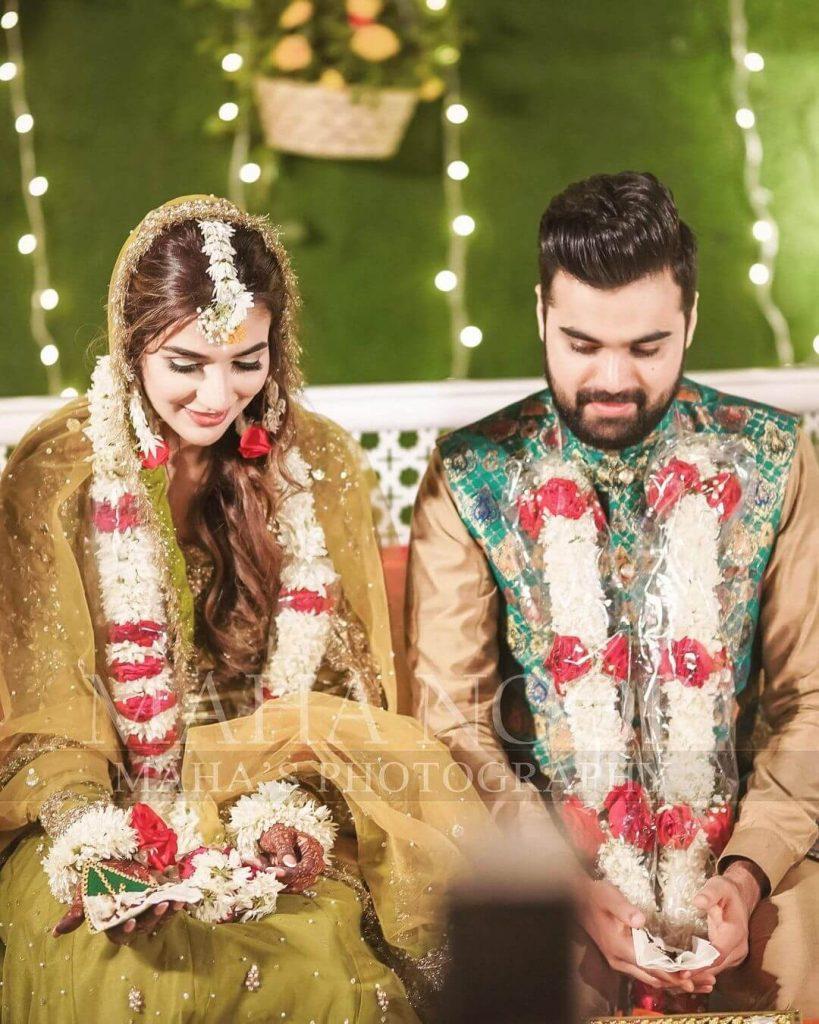 Rubab Hashim with Husband