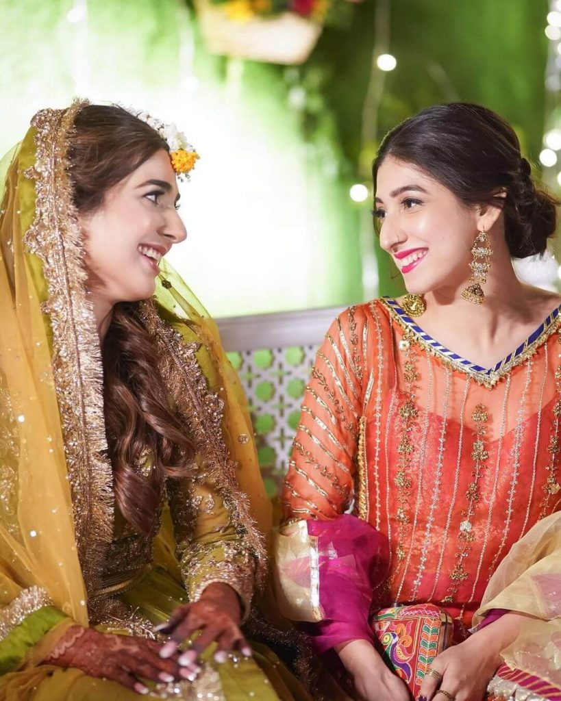 Mariyam Nafees on Rabab Hashim Wedding