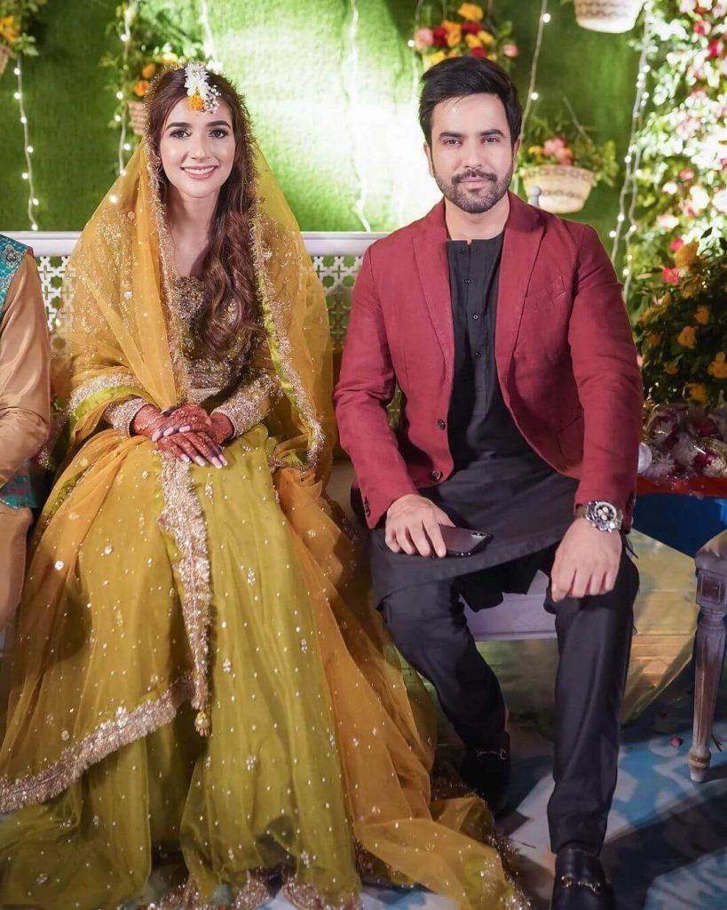 Junaid Khan on Rabab Hashim Wedding