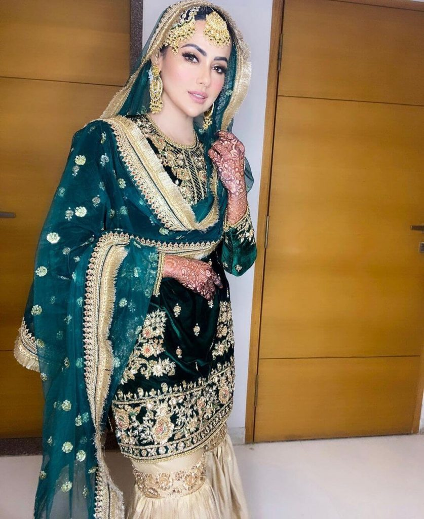 Latest Sana Khan wedding pics