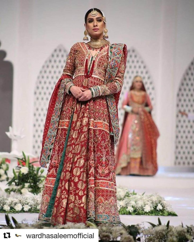pakistani fashion models bridal photo shoot