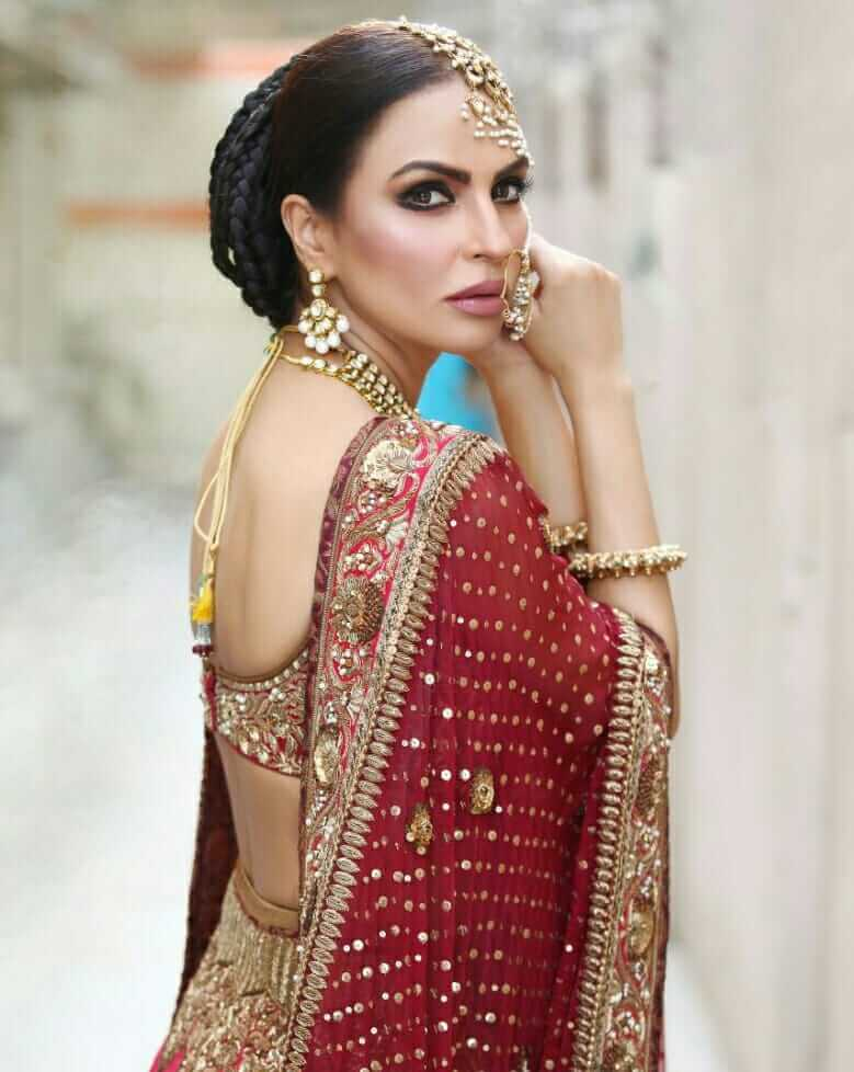 pakistani female model wedding dresses