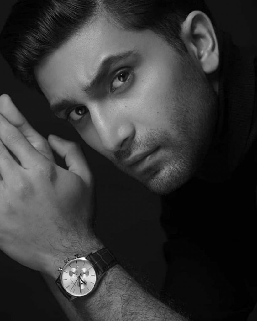 ahad raza mir biography