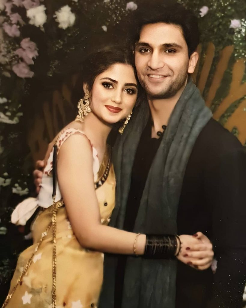 ahad raza mir with sajal