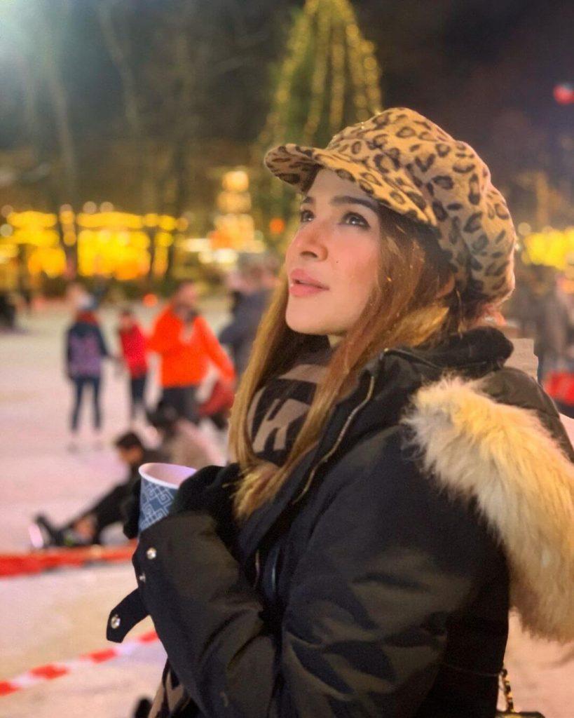 Pakistani Celebrities winter outfits