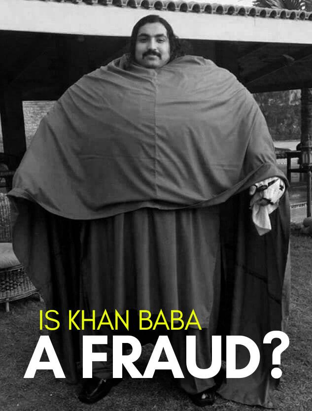 Pakistani Hulk Arbab Khizer Hayat aka Khan baba 5 KHAN BABA FRAUD
