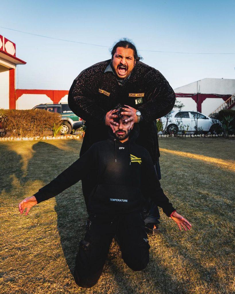 Pakistani Hulk Arbab Khizer Hayat aka Khan baba 2 Khaan Baba Wrestler