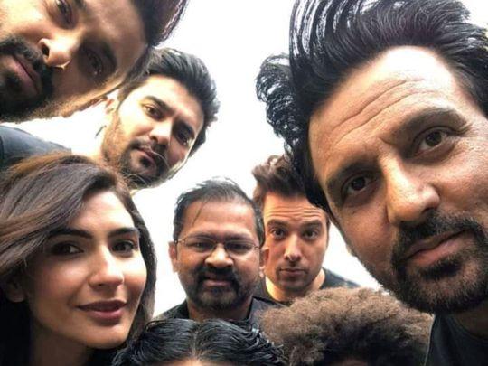 List of upcoming Pakistani Movies 21 MONEY BACK GUARANTEE shoot wrap up selfie 1580109560555 16fe5de7aec medium