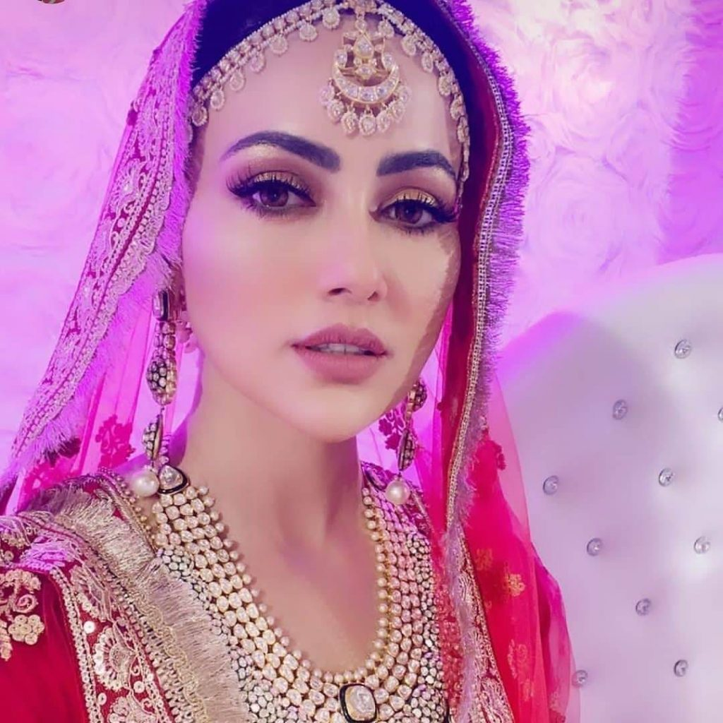 Sana Khan wedding day