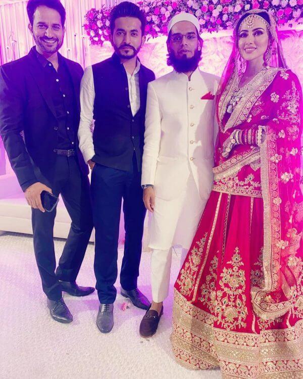 Sana Khan wedding pics