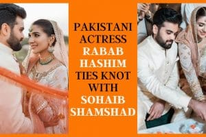 Actress Rabab Hashim Wedding