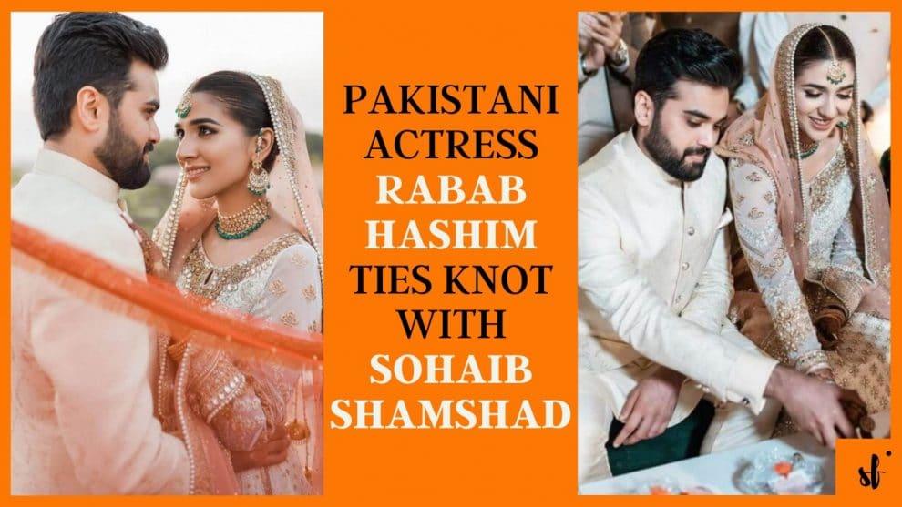 Actress Rabab Hashim Wedding