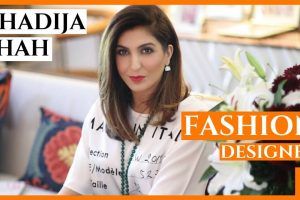 Who is Khadija Shah Fashion Designer Zaha Elan and Sapphire Clothing