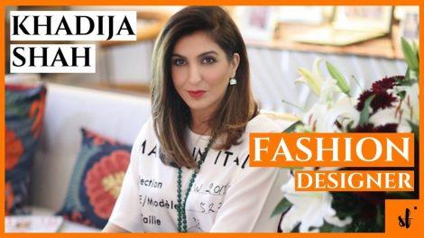 Who is Khadija Shah Fashion Designer Zaha Elan and Sapphire Clothing