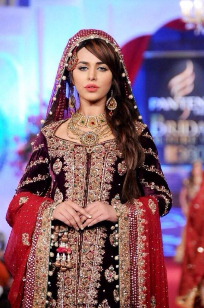 Ayyan Ali wedding dress
