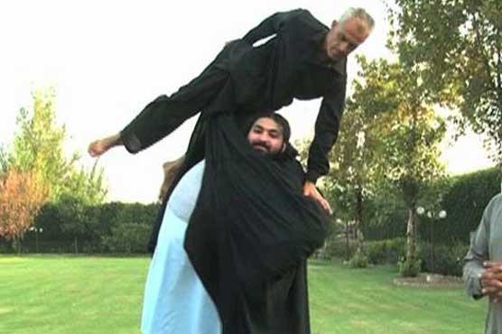 Pakistani Hulk Arbab Khizer Hayat aka Khan baba 3 khan baba of mardan