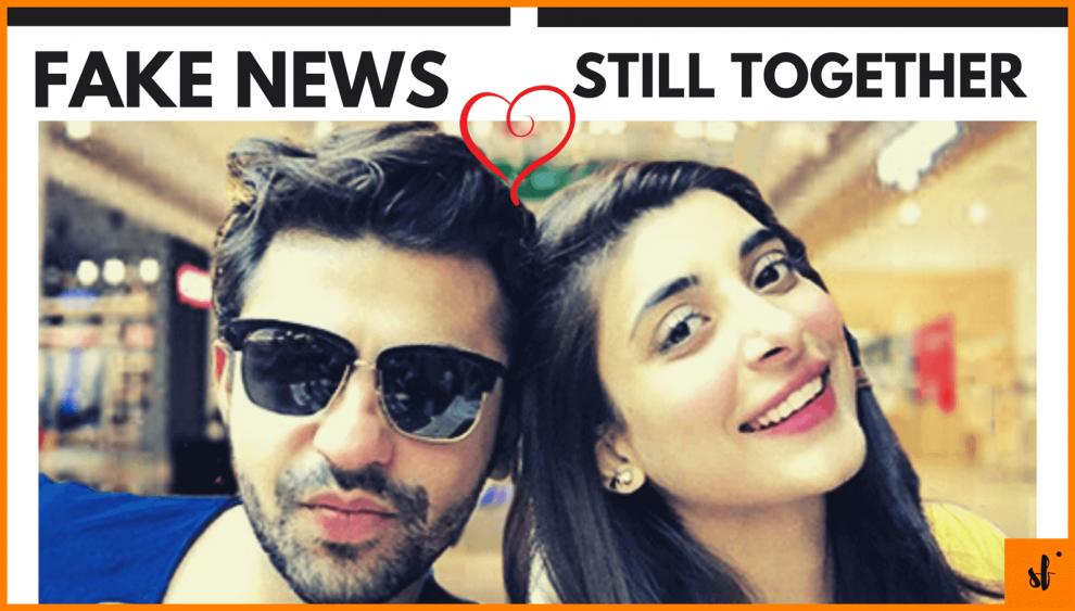 rumors Urwa and Farhan Saeed Divorce fake news