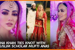 Sana Khan Marriage Pictures