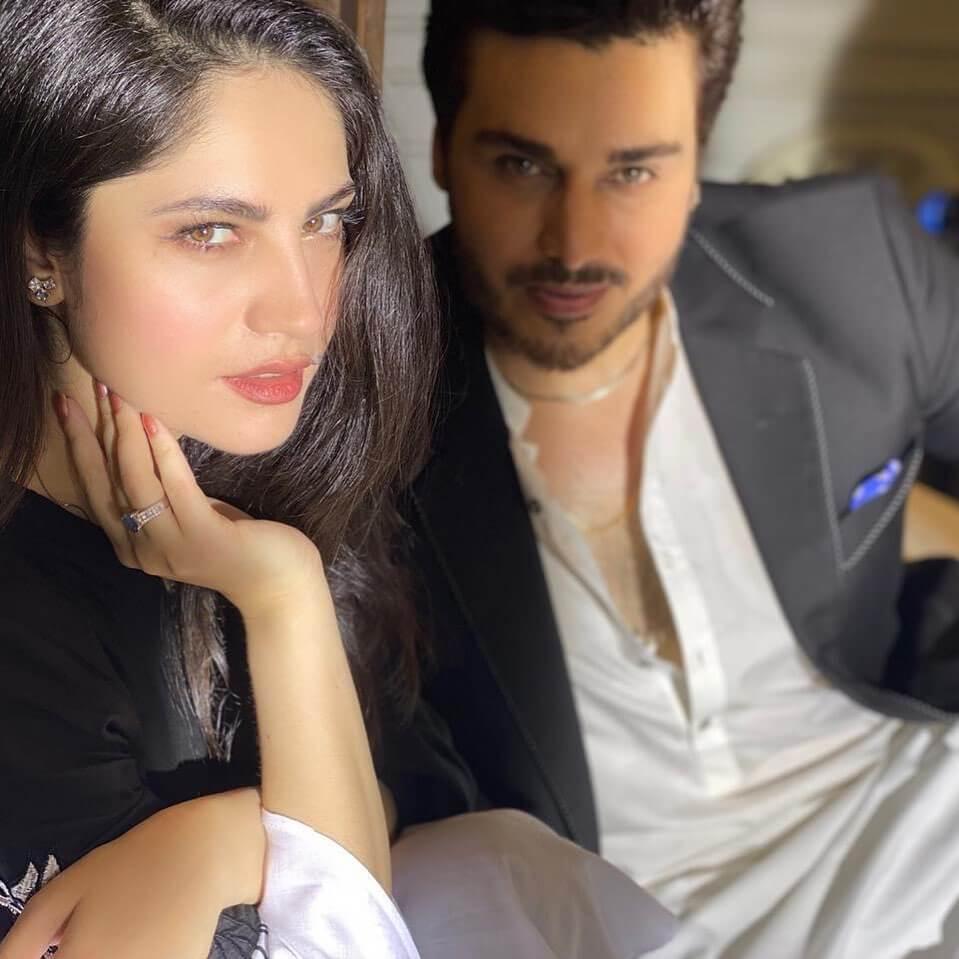 Ahsan Khan Neelam Muneer Qayamat drama cast