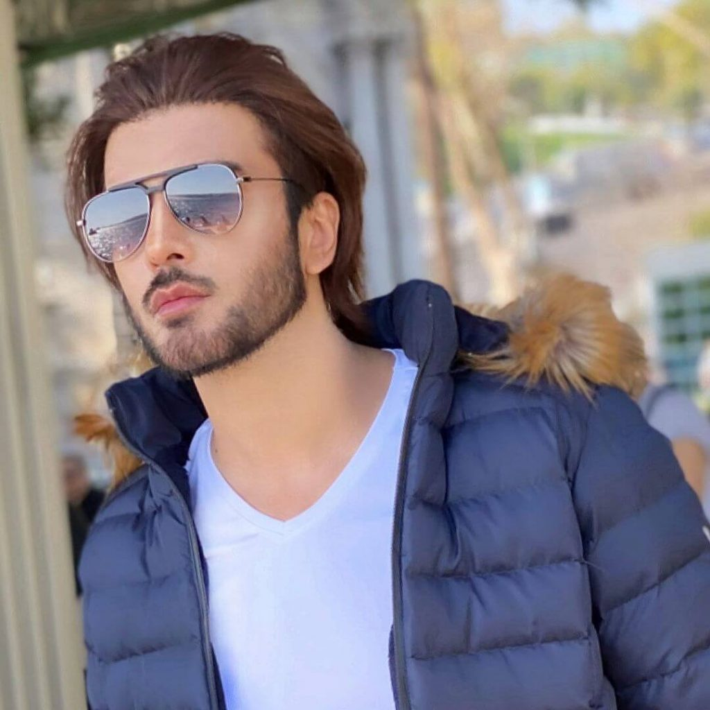 Winter outfits Pakistani Celebrities Imran Abbas