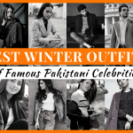 Winter outfits Pakistani Celebrities