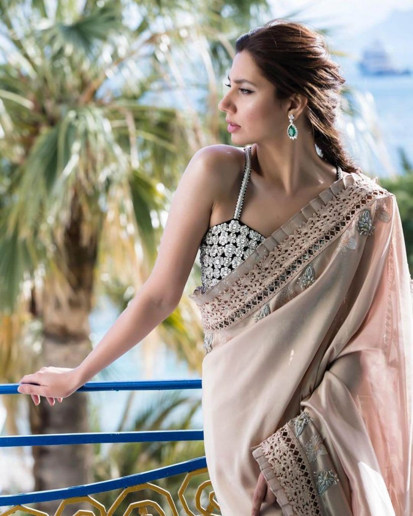 Mahira Khan Saree Style