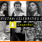 Pakistani Celebrities on Snapchat