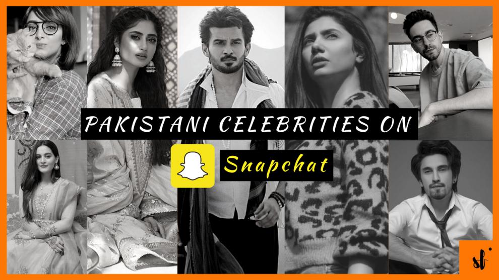 Pakistani Celebrities on Snapchat