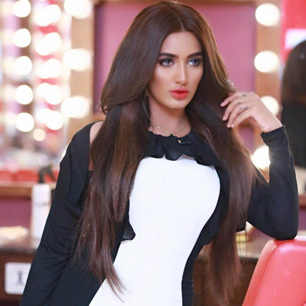 Pakistani actress in Bollywood Mathira