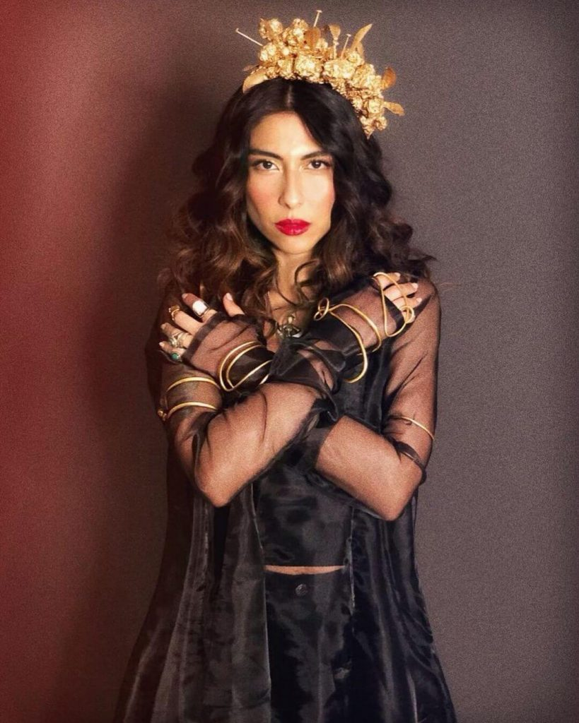 Pakistani actress in Bollywood Meesha Shafi
